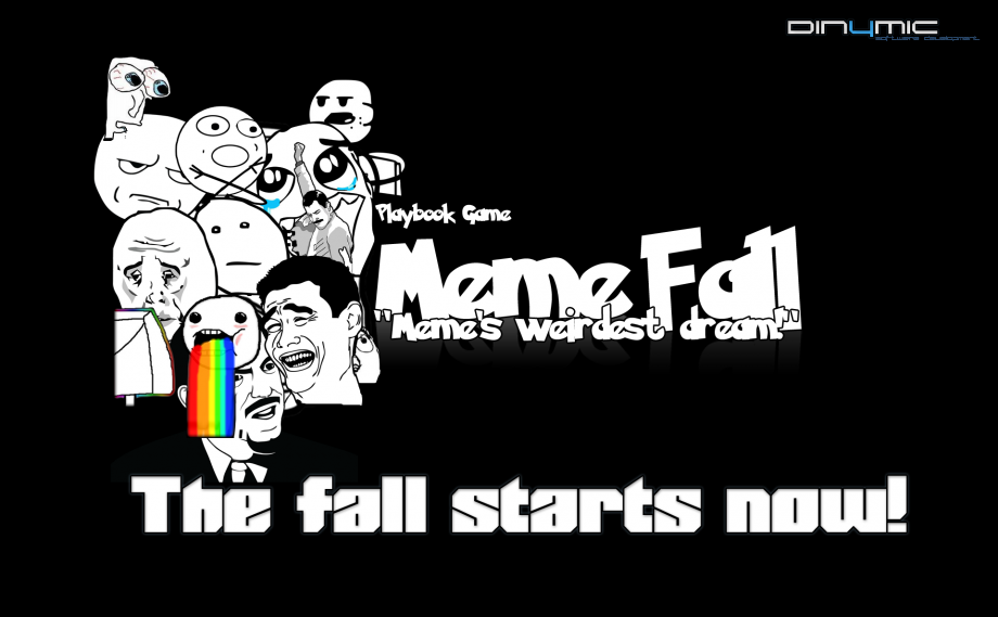 MemeFall para Blackberry