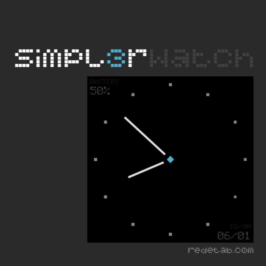 Simpl3rWatch: Watchface para Galaxy Gear
